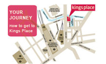 How to get to Kings Place, London