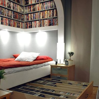 Sliding Book Case (photo: The Random House Group)