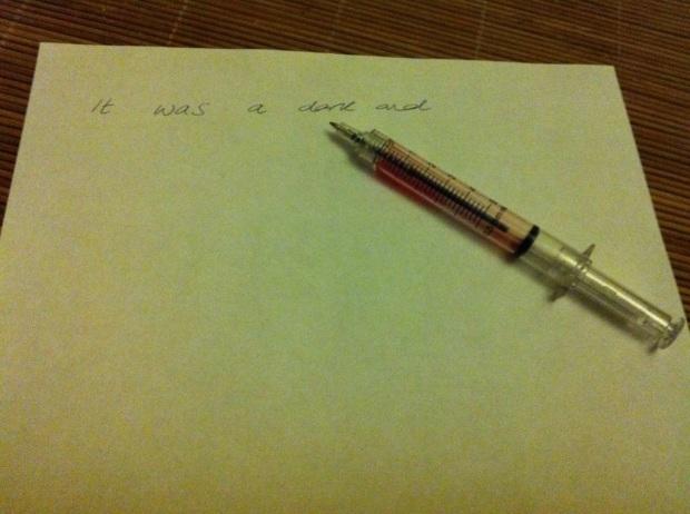 Syringe Pen (Dexter-style)