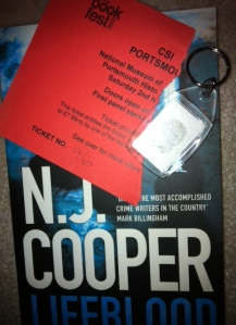 Ticket, Book & Fingerprint Key-ring!