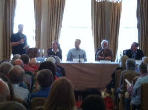 The Iceland Noir panel
