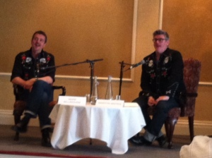 Mark Billingham interviewed by Martyn Waites