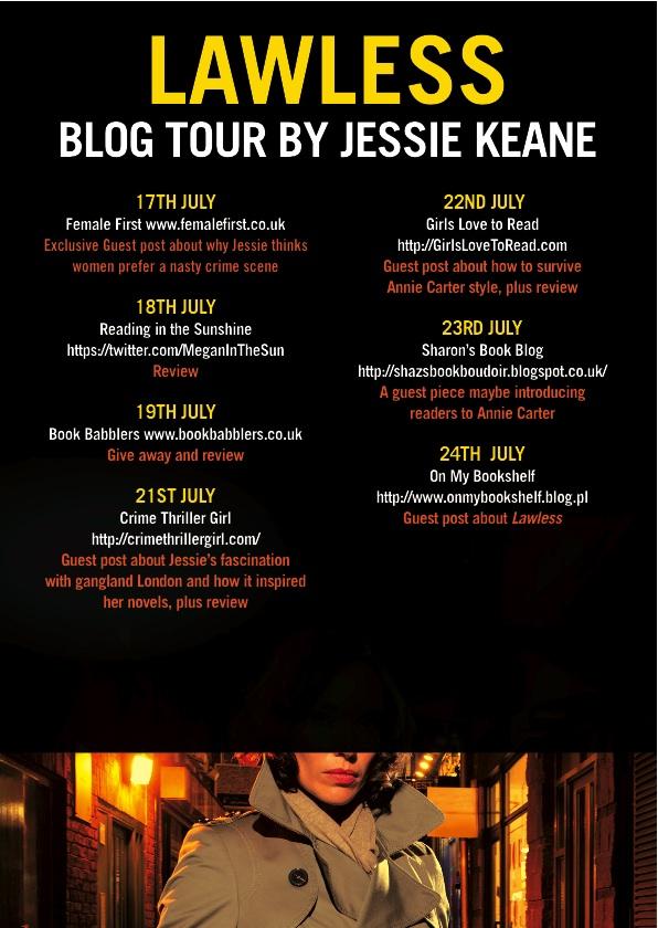 Jessie Keane Blog Tour Poster