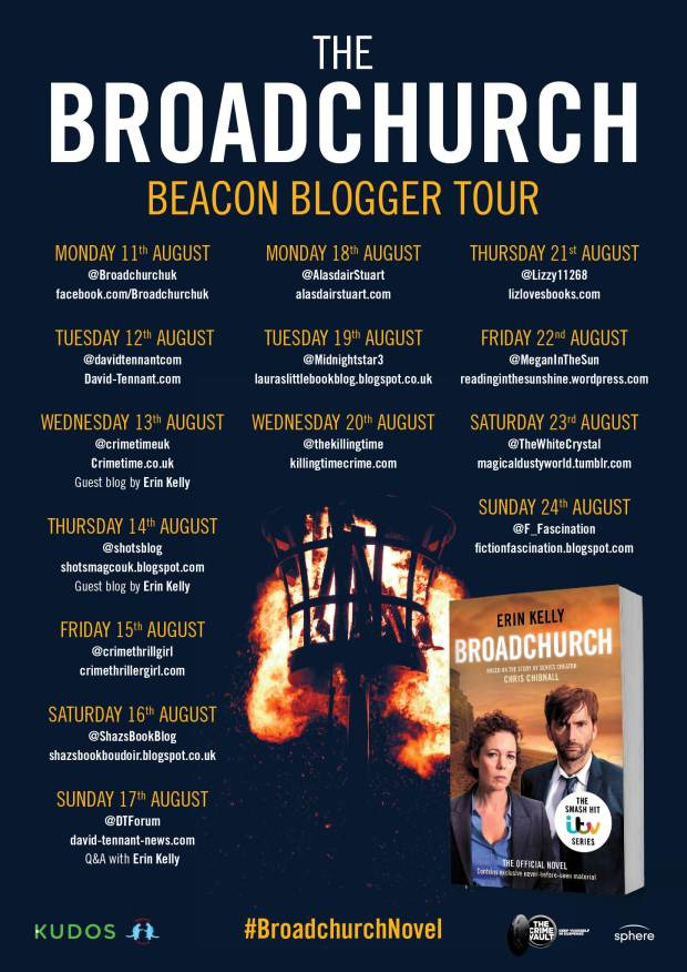 Broadchurch Beacon Blog Tour poster