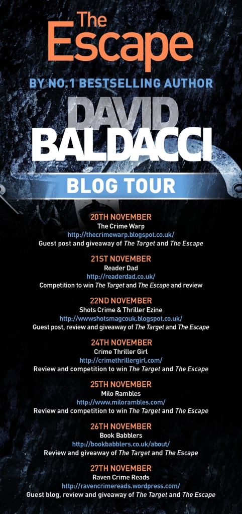 David Baldacci Blog Tour Poster