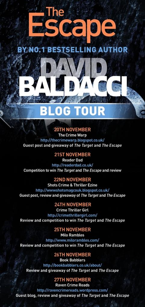 David Baldacci Blog Tour Poster