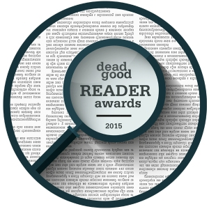 Dead Good Reader Awards logo