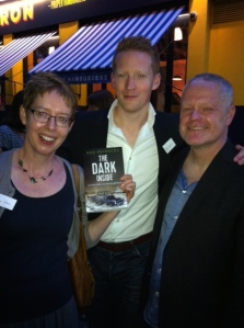 crime writers Helen Giltrow, Rod Reynolds & Mark Hill