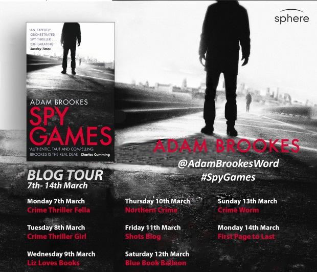 Spy Games blog tour