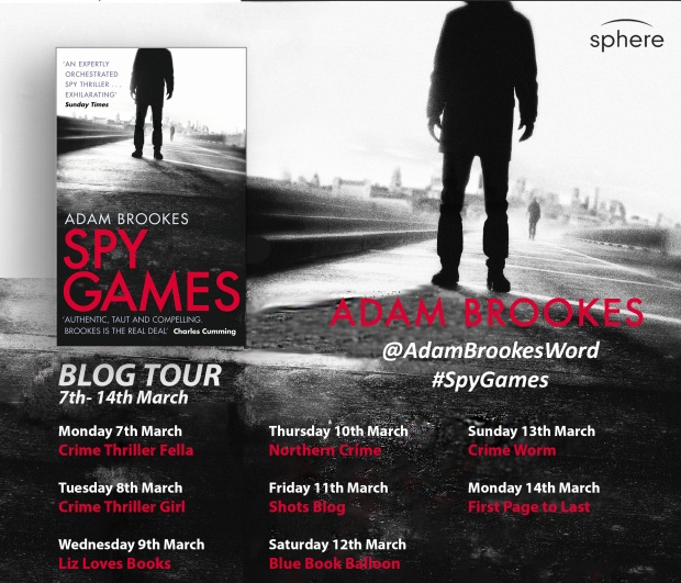 Spy Games blog tour