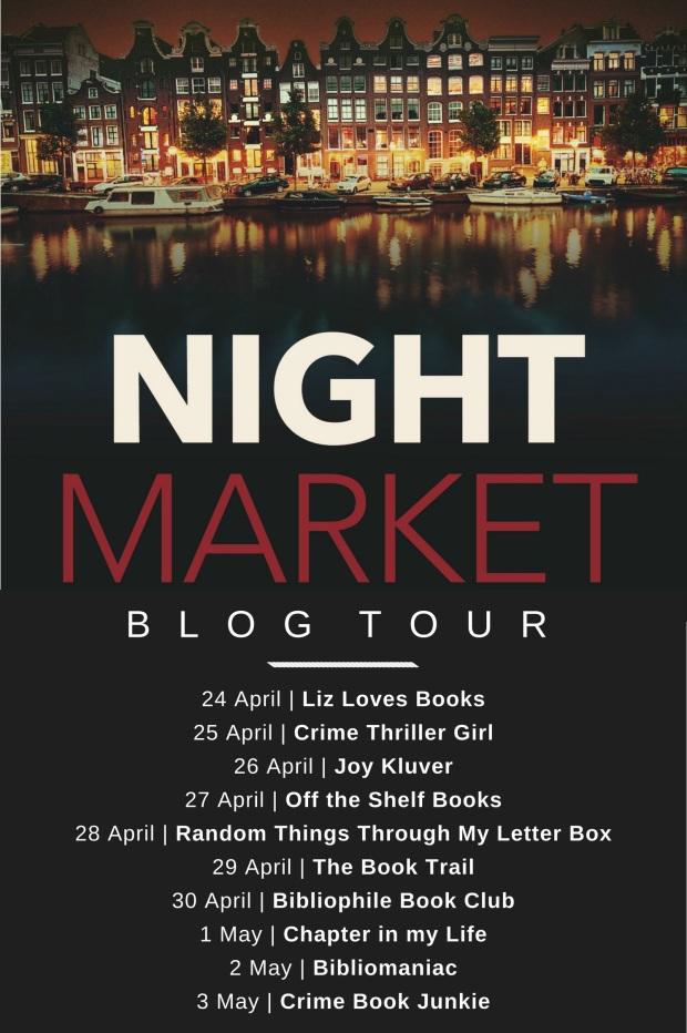 night market blog tour poster