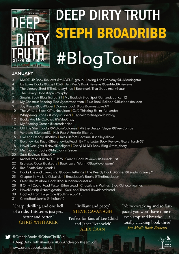 dirty truth blog poster 2018